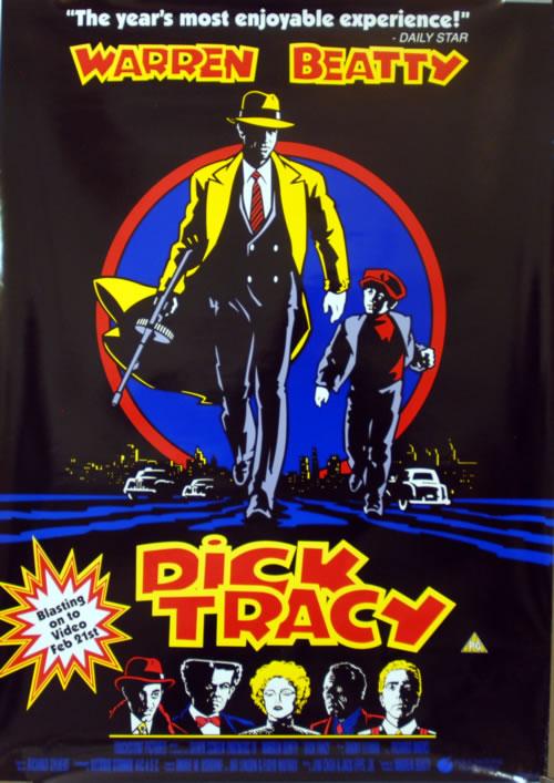 Madonna Dick Tracy - Pair Of Posters poster UK MADPODI620051