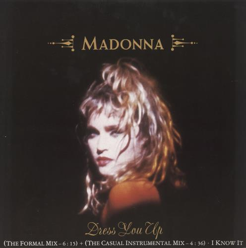 "Madonna Dress You Up 12"" vinyl single (12 inch record / Maxi-single) UK MAD12DR16484"