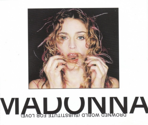 "Madonna Drowned World / Substitute For Love CD single (CD5 / 5"") German MADC5DR125936"