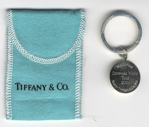 Madonna Drowned World Tour - Tiffany Key Ring memorabilia UK MADMMDR372575