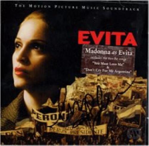 Madonna Evita Soundtrack Uk 2 Cd Album Set Double Cd