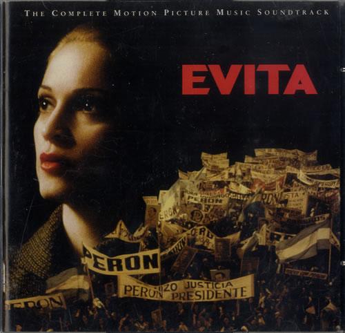 Madonna Evita 2 CD album set (Double CD) US MAD2CEV569666