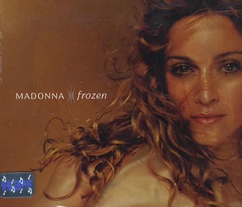 """Madonna Frozen - Sealed! CD single (CD5 / 5"""") Mexican MADC5FR377343"""