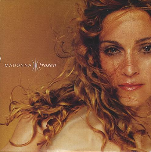 "Madonna Frozen CD single (CD5 / 5"") German MADC5FR107275"