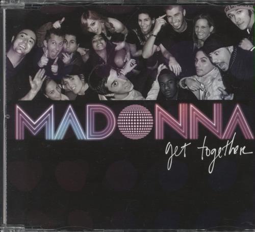 Madonna Get Together 2-CD single set (Double CD single) UK MAD2SGE362264