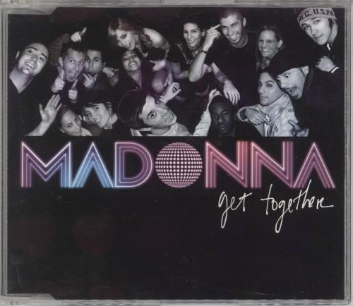 "Madonna Get Together CD single (CD5 / 5"") Australian MADC5GE362481"