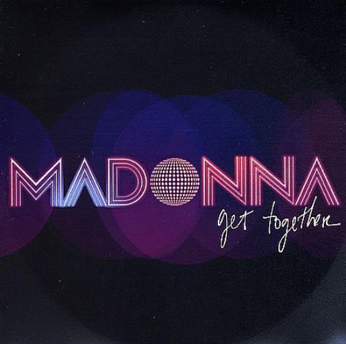 Madonna Get Together CD-R acetate UK MADCRGE365463