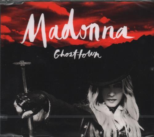 "Madonna Ghosttown CD single (CD5 / 5"") German MADC5GH653537"