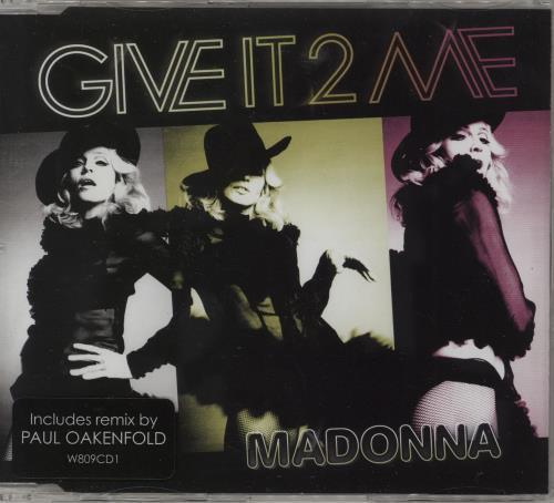 Madonna Give It 2 Me 2-CD single set (Double CD single) UK MAD2SGI436572