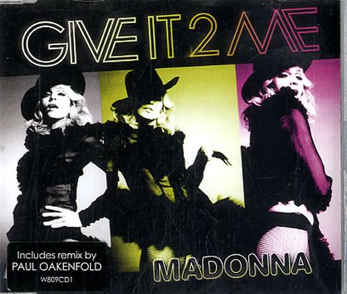 """Madonna Give It 2 Me CD single (CD5 / 5"""") UK MADC5GI608217"""
