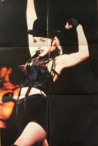 "Madonna Hanky Panky + poster, insert & sticker 12"" vinyl picture disc 12inch picture disc record UK MAD2PHA05437"