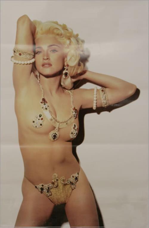 Madonna Holiday 91 Uk Promo Poster 40730