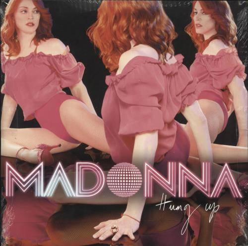 "Madonna Hung Up - 6-track - Sealed 12"" vinyl single (12 inch record / Maxi-single) US MAD12HU344120"