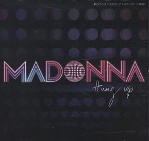 "Madonna Hung Up CD single (CD5 / 5"") US MADC5HU342954"