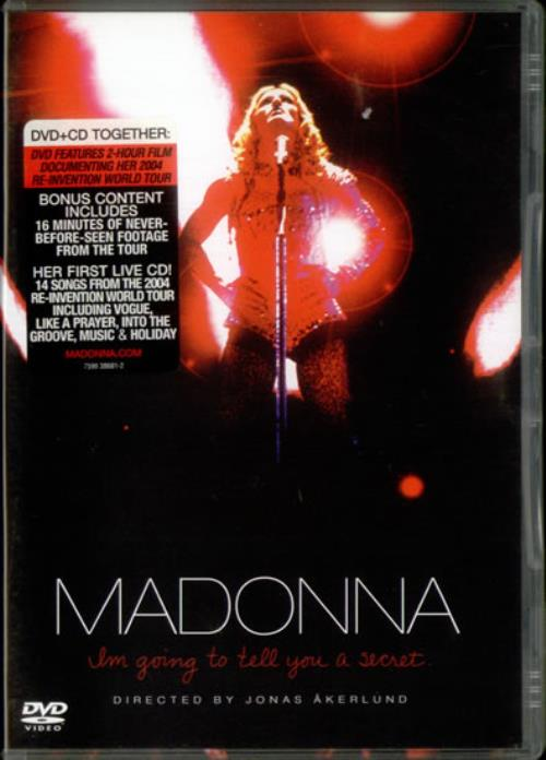Madonna I'm Going To Tell You A Secret - DVD Case Edition 2-disc CD/DVD set UK MAD2DIM536132