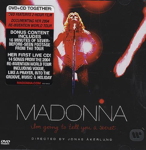 Madonna I'm Going To Tell You A Secret 2-disc CD/DVD set UK MAD2DIM362260
