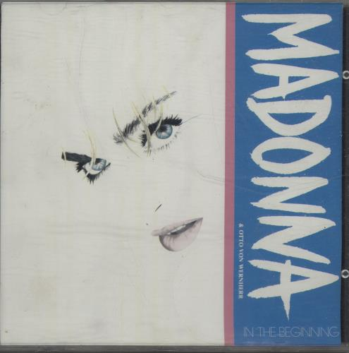 """Madonna In The Beginning CD single (CD5 / 5"""") UK MADC5IN38278"""