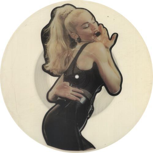 Madonna Interview '90 - Uncut uncut picture disc (vinyl) UK MADUNIN35544