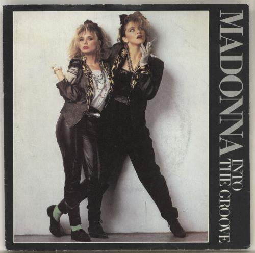 """Madonna Into The Groove - Solid + Card Sleeve 7"""" vinyl single (7 inch record) UK MAD07IN565560"""