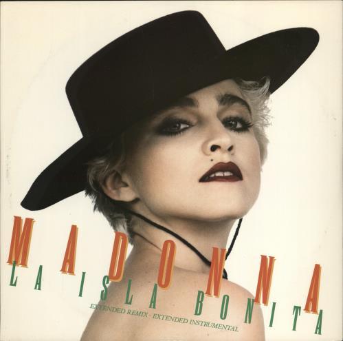 "Madonna La Isla Bonita + Sleeve 12"" vinyl single (12 inch record / Maxi-single) UK MAD12LA05500"