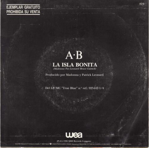 Madonna La Isla Bonita Spanish Promo 7