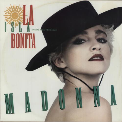 "Madonna La Isla Bonita 12"" vinyl single (12 inch record / Maxi-single) US MAD12LA680100"