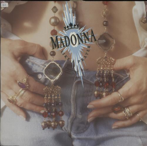 Madonna Like A Prayer - EX vinyl LP album (LP record) UK MADLPLI41342