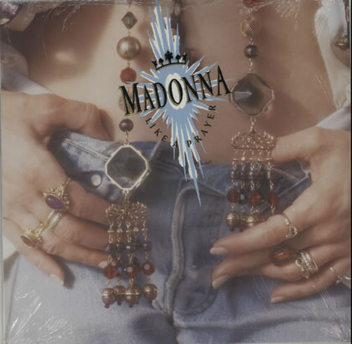 Madonna Like A Prayer - Scented Inner vinyl LP album (LP record) UK MADLPLI598459