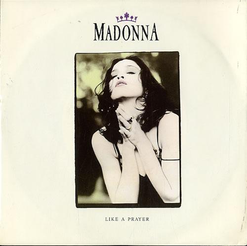 "Madonna Like A Prayer 7"" vinyl single (7 inch record) German MAD07LI629343"