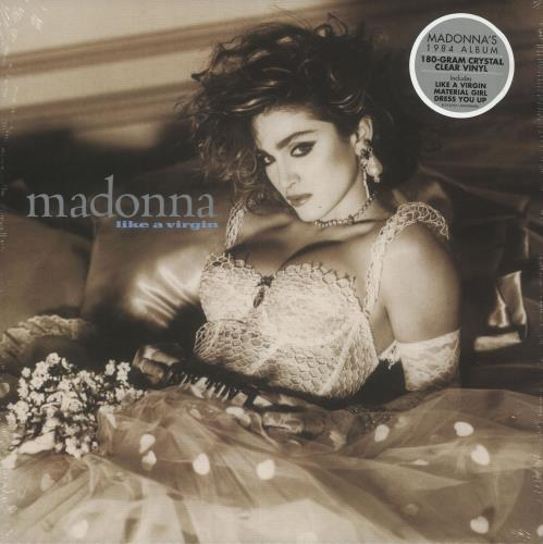 Madonna Like A Virgin - 180gm Clear Vinyl - Sealed vinyl LP album (LP record) UK MADLPLI733267