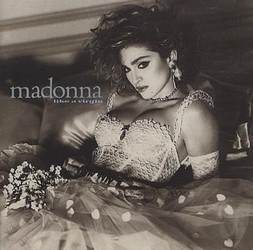 Madonna Like A Virgin - Including Into The Groove CD album (CDLP) German MADCDLI42748