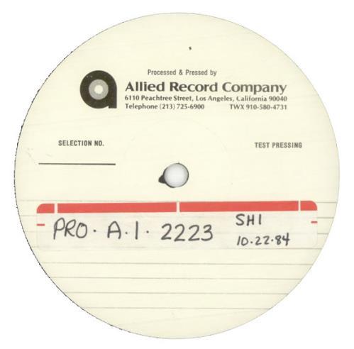 "Madonna Like A Virgin - Test Pressing 12"" vinyl single (12 inch record / Maxi-single) US MAD12LI514946"