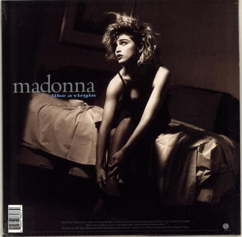 Madonna Like A Virgin - White Vinyl - Sealed vinyl LP album (LP record) UK MADLPLI699542