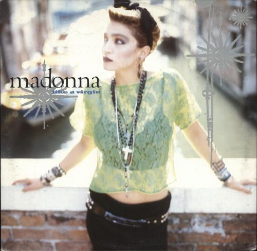"Madonna Like A Virgin 12"" vinyl single (12 inch record / Maxi-single) German MAD12LI204316"