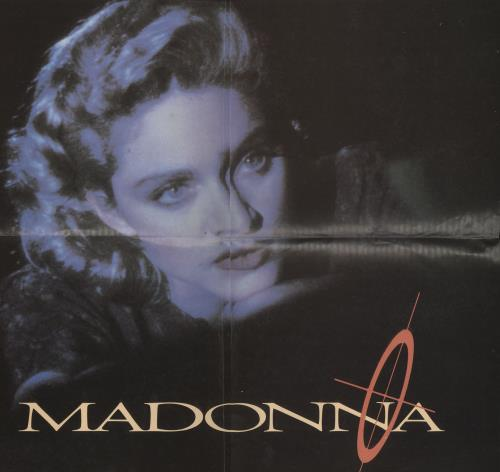 "Madonna Live To Tell + Poster 12"" vinyl single (12 inch record / Maxi-single) UK MAD12LI707544"