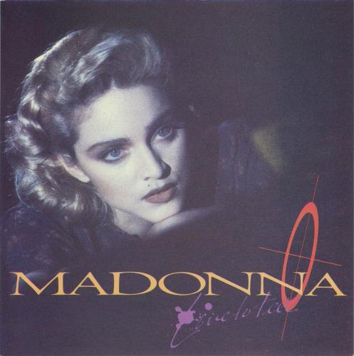 "Madonna Live To Tell - Injection Label & Card Sleeve 7"" vinyl single (7 inch record) UK MAD07LI565629"
