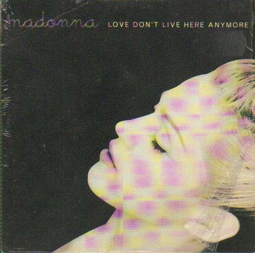 """Madonna Love Don't Live Here Anymore CD single (CD5 / 5"""") French MADC5LO658180"""
