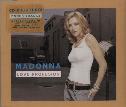 Madonna Love Profusion 2-CD single set (Double CD single) UK MAD2SLO266358