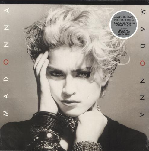 Madonna Madonna - 180gm Clear Vinyl - Sealed vinyl LP album (LP record) UK MADLPMA733269