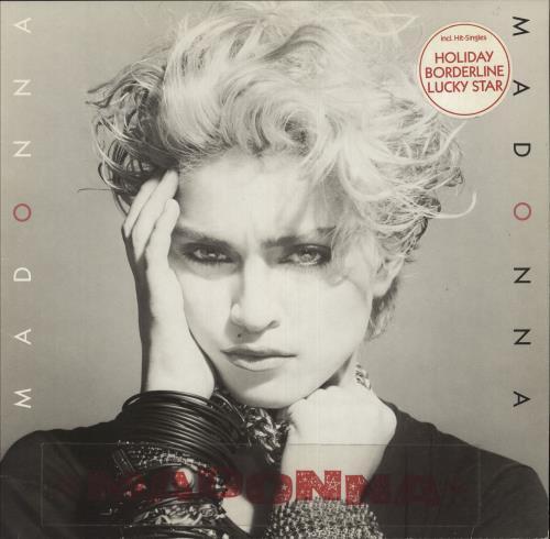 Madonna Madonna - Double Stickered Sleeve vinyl LP album (LP record) German MADLPMA745961