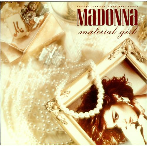 Madonna Material Girl Us 12 Quot Vinyl Single 12 Inch Record