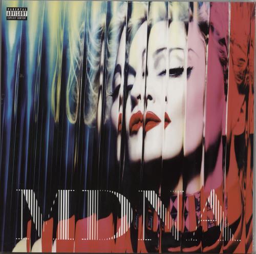 Madonna MDNA - 180gram 2-LP vinyl record set (Double Album) US MAD2LMD762433