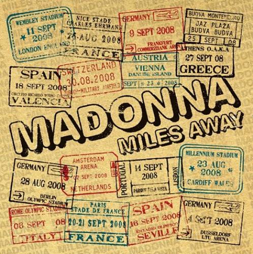 "Madonna Miles Away CD single (CD5 / 5"") UK MADC5MI453562"