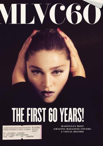 Madonna MLVC60: Madonna's Most Amazing Magazine Covers: A Visual Record book UK MADBKML770211