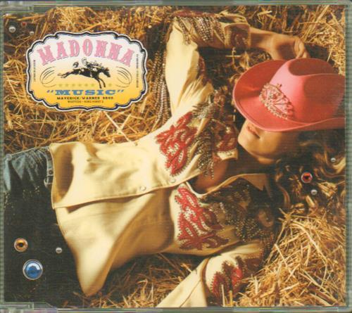 "Madonna Music - CD2 CD single (CD5 / 5"") UK MADC5MU189151"