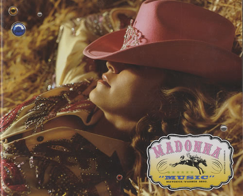 Madonna Music 2-CD single set (Double CD single) Australian MAD2SMU309887