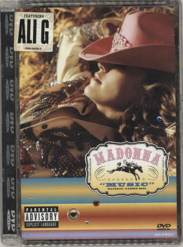Madonna Music DVD German MADDDMU344778