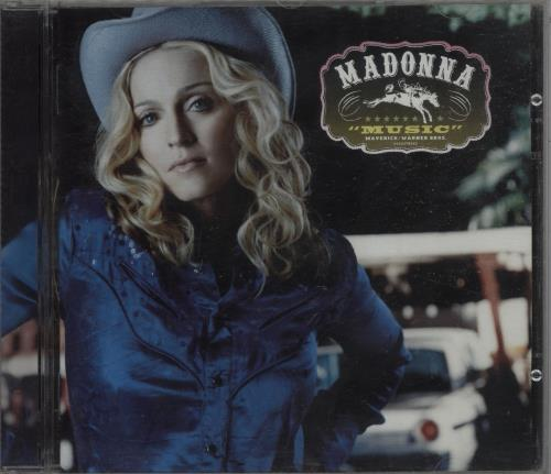 Madonna Music CD album (CDLP) Australian MADCDMU658786