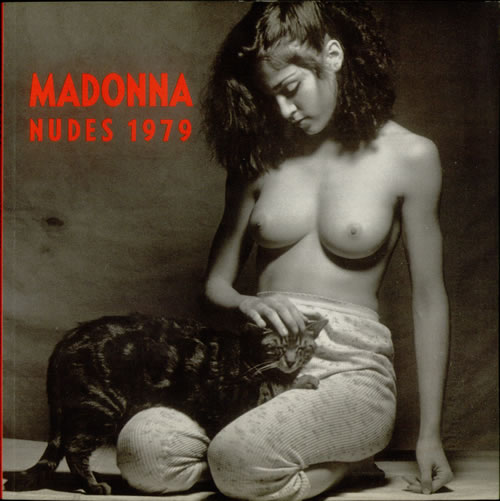 Madonna Nudes 1979 book German MADBKNU05418