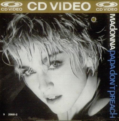 "Madonna Papa Don't Preach CD single (CD5 / 5"") US MADC5PA315239"